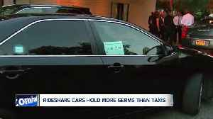 Study: Rideshare cars hold more germs than taxis [Video]
