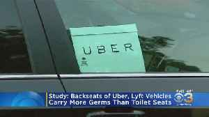 Backseats Of Uber, Lyft Vehicles Carry More Germs Than Toilet Seats, Study Finds [Video]