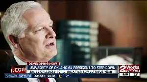 OU President Gallogly announces retirement a few days after commencement [Video]