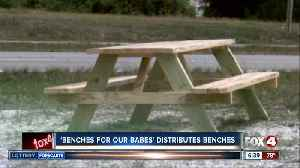 More benches distributed to school bus stops in Cape Coral over the weekend