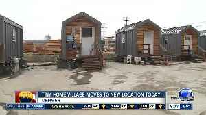 Tiny Home Village will move to its new location today [Video]