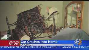 Woman Thrown From Bed After Car Slams Into La Puente Home [Video]