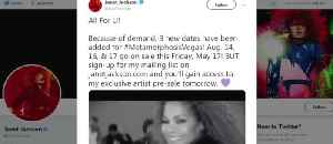 Janet Jackson adds 3 dates [Video]