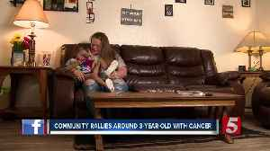 Lebanon community supports 3-year-old with cancer [Video]