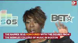 Missy Elliott and Justin Timberlake receive Honorary Doctorates [Video]