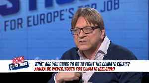 Guy Verhofstadt: There is no east-west divide in Europe [Video]