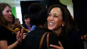 News video: Kamala Harris Changes Stance On Private Health Insurance