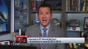 NFL Network Insider Ian Rapoport details what the Tampa Bay Buccaneers could do to keep defensive tackle Gerald McCoy in 2019 [Video]