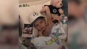Lewis Hamilton arranges for his F1 car to arrive at home of terminally ill boy [Video]