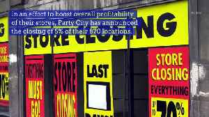 World Helium Shortage Ends the Festivities for Party City Retail Locations [Video]