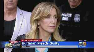 Felicity Huffman Pleads Guilty In College Bribery Scandal [Video]
