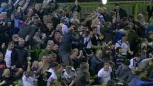 News video: Mike Dean celebrates Tranmere victory!
