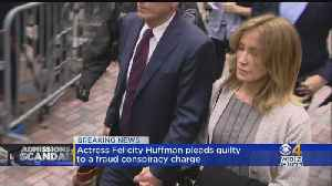 Actress Felicity Huffman Pleads Guilty To Fraud Conspiracy Charge [Video]