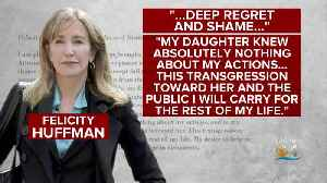 Actress Felicity Huffman Peads Guilty [Video]