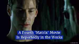 A Director Spills The Beans On 4th 'Matrix' Movie [Video]