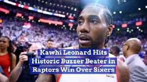 Kawhi Leonard And His Incredible Buzzer Beater Victory
