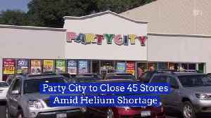 Party City Is Shutting Down 45 Stores [Video]
