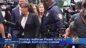 Actress Felicity Huffman Pleads Guilty In College Admission Bribery Scandal [Video]