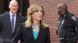 Felicity Huffman Pleaded Guilty in Boston Federal Court in Nationwide College Admissions Scandal | THR News [Video]