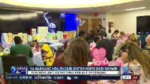 VA Maryland Health Care System hosts baby shower for new, expecting female veterans [Video]