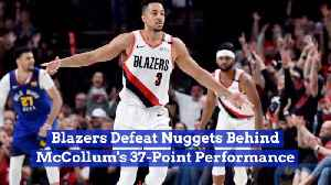 The Portland Trailblazers Head To The Western Conference Finals [Video]