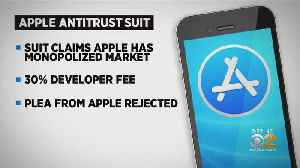 Anti-Trust Lawsuit Against Apple Can Move Forward [Video]