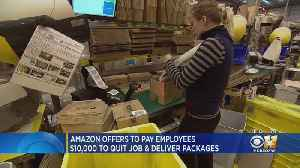 Amazon Wants Employees To Quit And Haul Packages [Video]