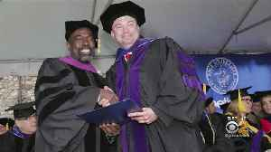 Exonerated Man Graduates From Law School [Video]