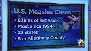 Number Of Measles Cases In US Surpasses 800 [Video]