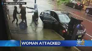 Caught On Video: Newark Woman Robbed At Gunpoint [Video]