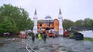 Fire at Connecticut Mosque Was Intentionally Set, Fire Chief Says [Video]