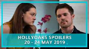 Hollyoaks spoilers: 20 - 24 May 2019 [Video]