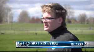 Kenyon-Wanamingo freshman finds role with track & field team [Video]