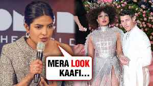 Priyanka Chopra Finally REACTS On Her Met Gala 2019 OUTFIT [Video]