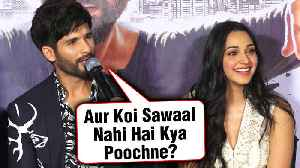 Shahid Kapoor INSULTS Reporter For Asking About His KISS With Kiara Advani [Video]
