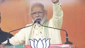 PM Narendra Modi gets emotional during his speech in Bihar's Buxar | Oneindia News [Video]