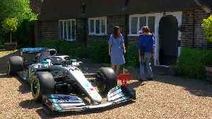 Lewis Hamilton sends F1 car to home of terminally ill boy [Video]