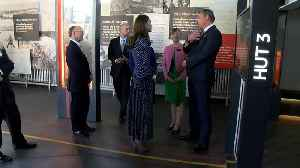 Duchess of Cambridge visits Bletchley Park [Video]