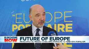 'For the first time since its creation,' Europe has enemies, says EU Commissioner Moscovici [Video]