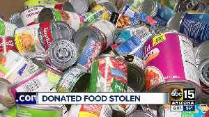 St. Mary's Food Bank donations stolen during Stamp Out Hunger food drive [Video]