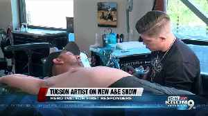 Tucson tattoo artist featured on new A&E show 'Hero Ink' [Video]