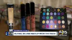 Women are dumpster diving to find, sell cheap designer cosmetics online [Video]
