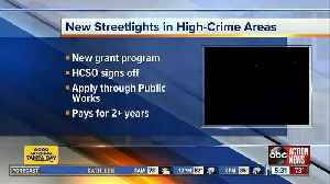 Hillsborough to approve new streetlights in high-crime areas [Video]