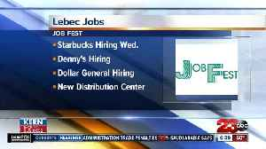 New jobs available in Lebec [Video]