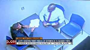Jury sees first piece of evidence in Baber trial [Video]