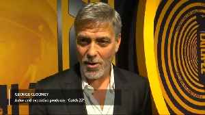 After 20 years, Clooney back on TV with 'Catch 22' [Video]