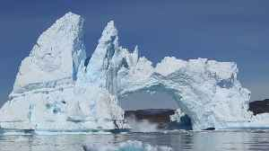 Massive Iceberg Crashes Into Sea In Diskobay, Greenland [Video]