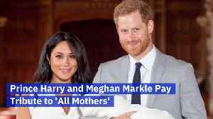 News video: Meghan Markle And Her First Mother's Day
