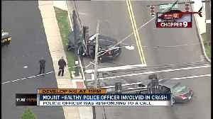 Chopper 9 Video: Police cruiser collides with car at Mount Healthy intersection [Video]