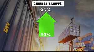 News video: China to increase tariffs on $60bn worth of US goods